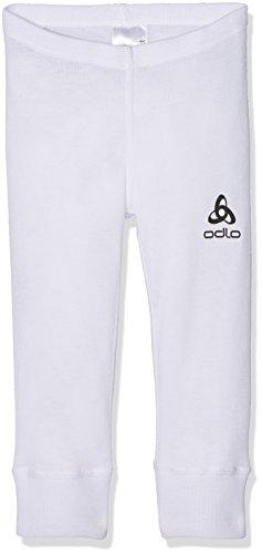 Odlo Pants Warm Kids Pantalon Enfant, Blanc (Blanc), 80 cm