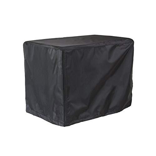 DONGZHI Generador Cubrir A Prueba de Viento Protector Cubrir Impermeable UV Al Aire Libre Almacenamiento Cubrir Oxford Paño Cubiertas Accesorios (Color : Black, Size : 97x76x76cm)
