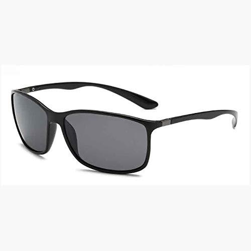 Vierkant Gepolariseerd Licht Zonnebril Heren Dames Metaal Rijst Nagel Zonnebril Mode Brillen UV400 S