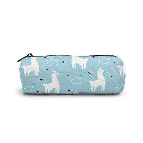 Beaux sacs de maquillage de stockage de voyage de sac cosmétique de beaux lamas sac à main