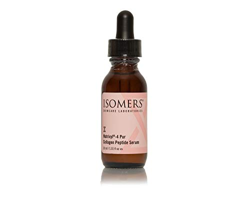 Isomers Matrixyl®-4 Pur Collagen Peptide Serum 30 ml, Anti-Aging Collagen Peptide Support, Marionette Lines, Fine Lines & Wrinkles