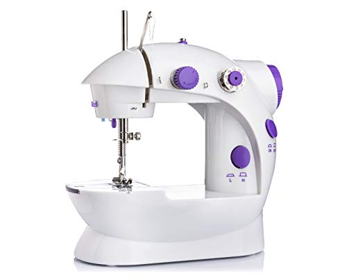 Raawan Multi Electric Mini 4 in1 Desktop Functional Sewing Machine for Home Stitching Machine for Home,Tailor Machines,Silai Machines&Accessories Household Sewing Machine for Home Tailoring
