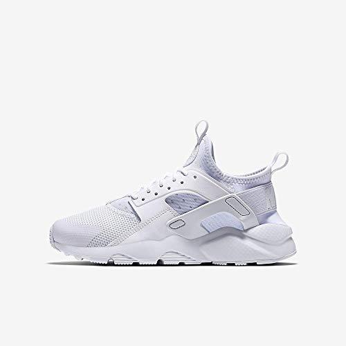 Nike Air Huarache Run Ultra GS, Zapatillas de Running Mujer, Blanco (White/White/White 100), 38.5 EU