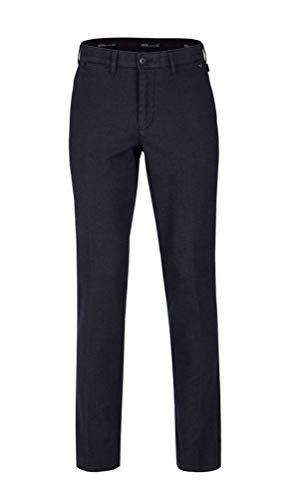 Brühl - Comfort Fit - Herren Chino Hose, London (643184130100), Größe:32, Farbe:Blau (670)