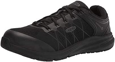 KEEN Utility mens Vista Energy Low Composite Toe Work Construction Shoe, Black/Raven, 11 US