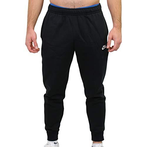 Nike Sportswear Club Fleece M, Pantalone Sportivo Uomo, Nero Black/White, L