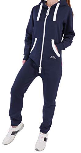 91Z5 36C Finchgirl FG18R Damen Jumpsuit Overall Navy XS