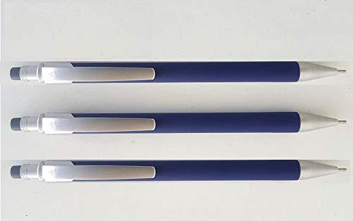Portaminas Bic Select 837416 con cuerpo acolchado de goma, 3 unidades (para minas de 0,5 mm)