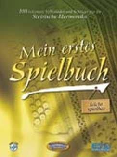 MEIN ERSTES SPIELBUCH - arrangiert für Steirische Handharmonika - Diat. Handharmonika - mit CD [Noten / Sheetmusic]
