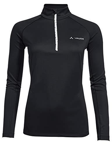 VAUDE Damen Larice Light Shirt Ii Pullover, Black, 36