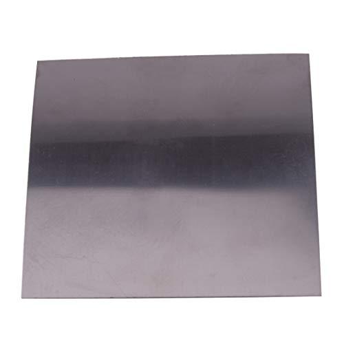 Eastar 0.3mm(0.01inch) Dickes quadratisches Titanfolienblech Ti Dünnes Plattenmaterial 99.8% Reinheit Metallbearbeitungszubehör