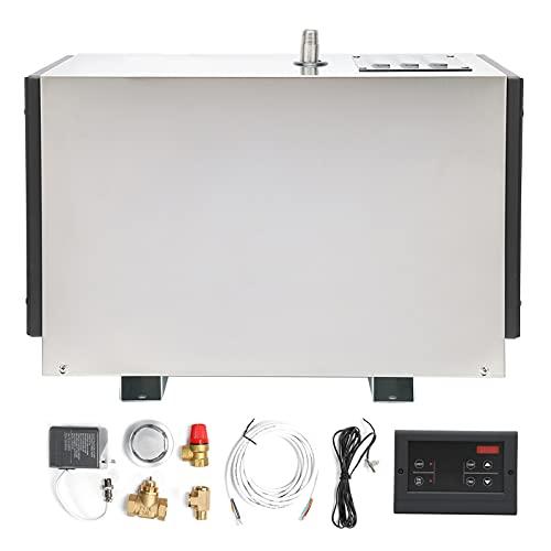 Generatore Automatico del Bagno, generatore di Vapore temporizzato con Grado di impermeabilità IPX4 Durevole e Resistente per la casa per Il Bagno Turco
