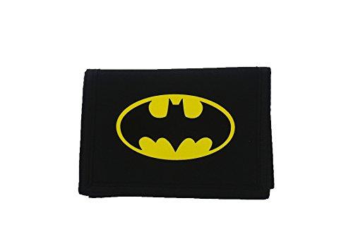 Batman Wallet Porte-monnaie, 13 cm, Noir (Black)