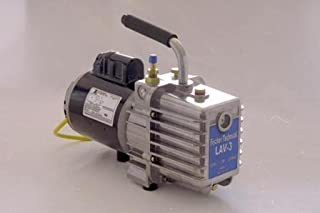 Fischer LAV-3 Laboratory High Vacuum Pump, 2 Stage, 1/3 HP, 110V, 60Hz