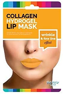 BEAUTY FACE - Fine Line Collagen Lips Mask - Lips and Contour Patches - Moisturizing, Firming, for Fine Lines Wrinkles