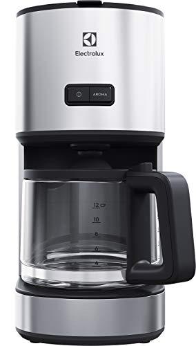 Electrolux E4CM1-4ST Programmierbare Kaffeemaschine, 1080 W, 1,65 Liter, Edelstahl, Grau/Stahl