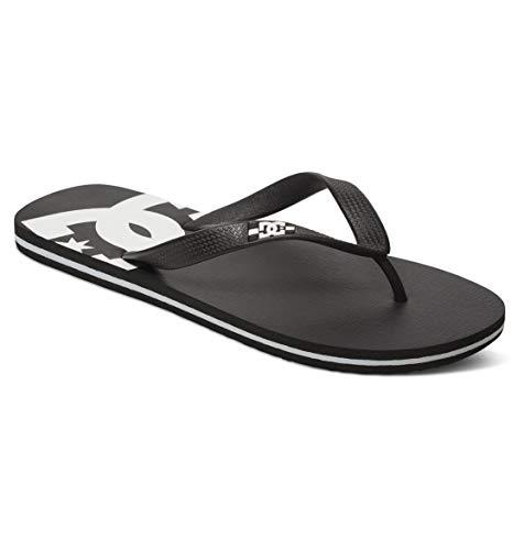 DC Shoes Spray, Sandalias Deportivas Hombre, Negro (Black/Black/White Blw), 40.5 EU