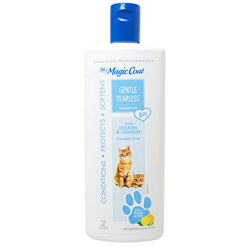Four Paws Magic Coat Cat Gentile Tearless Shampoo, 12 oz