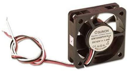 SUNON MB40202V2-0000-A99 Ventilador, 24 VDC, 7.7 CFM, Vapo, Ul/Cul/Tuv, 40 mm x 40 mm x 20 mm