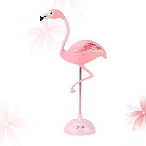 OSALADI Led Flamingo Nachtlampjes Schattige Tafellampen Met Aanraaksensor Usb Oplaadlampen Voor Kinderkamer Kindergeschenken Hawaiiaanse Tafeldecoratie