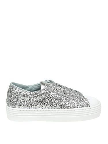 Chiara Ferragni Luxury Fashion Damen CF2078 Silber Sneakers | Frühling Sommer 19