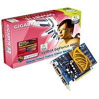 Gigabyte Nvidia GeForce 6600 256MB DDR PCI-Ex16 Grafikkarte PCI Express DVI, TV-Out (NVIDIA GeForce 6600
