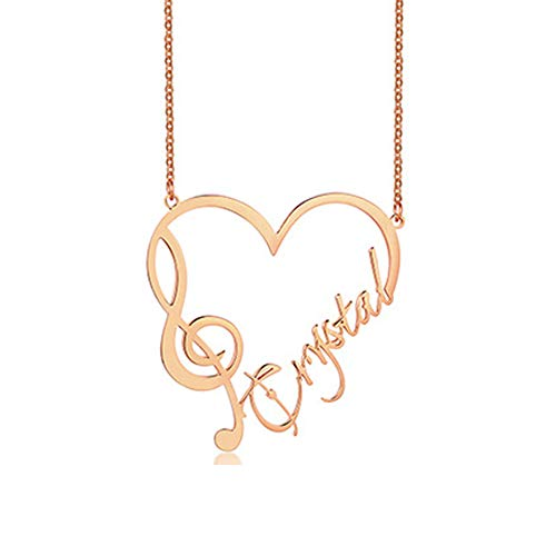 Music Gift Orchestras Girl Gift Musician Gift Music Teacher Gift Music Melody Treble Clef Charm Necklace Music Note Charm Personalized