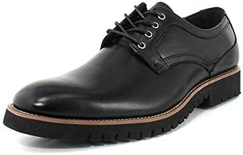 STACY ADAMS Men& 039;s Barclay Plain Toe Lace Up Oxford schwarz 12 D US