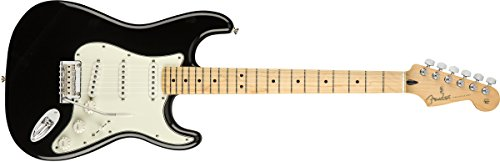 Fender Player Stratocaster Electric Guitar - Maple Fingerboard - Black