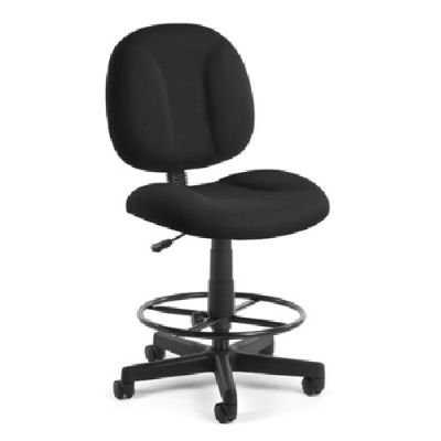 BEF2009138 - Best Black Task Chair with drafting stool