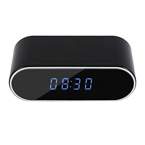 Cámara Espía Oculta Cámara Reloj WiFi 1080P Mini Cámara con Visión Nocturna Aplicar para Tiendas y Oficinas, etc