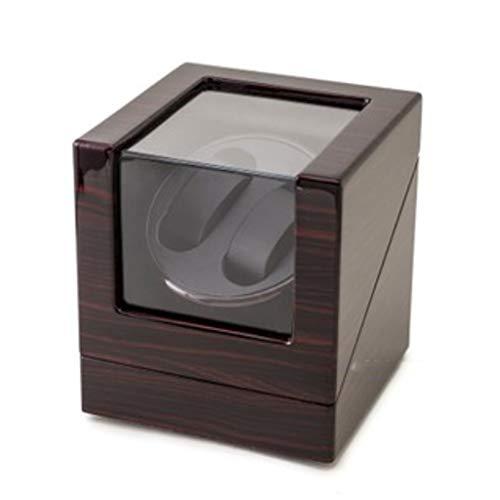 YOIL Aufbewahrungsbox für Uhrenbeweger Mini-Sicherheitsschrank speziell für Schütteltische, Klavier, Lack, fünf drehbare Tischboxen.