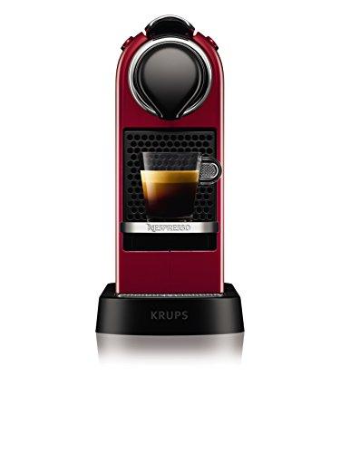 NESPRESSO KRUPS Citiz XN741540 Pod Coffee Machine-Red