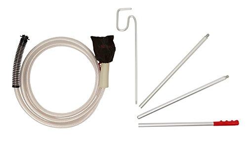 Propress - Kit de accesorios para modelos 2500/3800 de limpiador al vapor (incluye manguera de 3 m y varas de extensión)