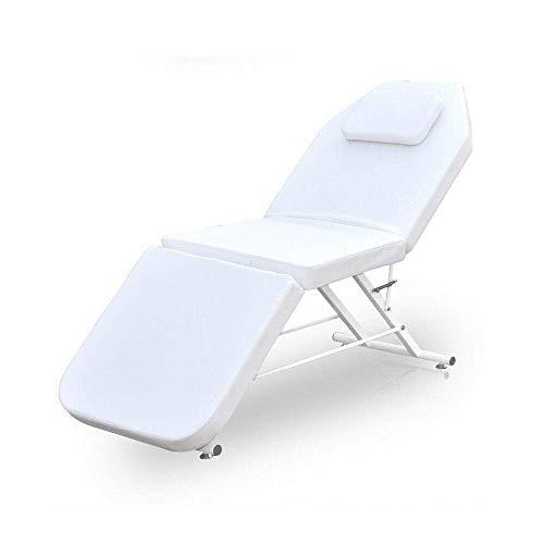 Camilla de masaje móvil, plegable, banco de masaje de aluminio, 3 zonas,...