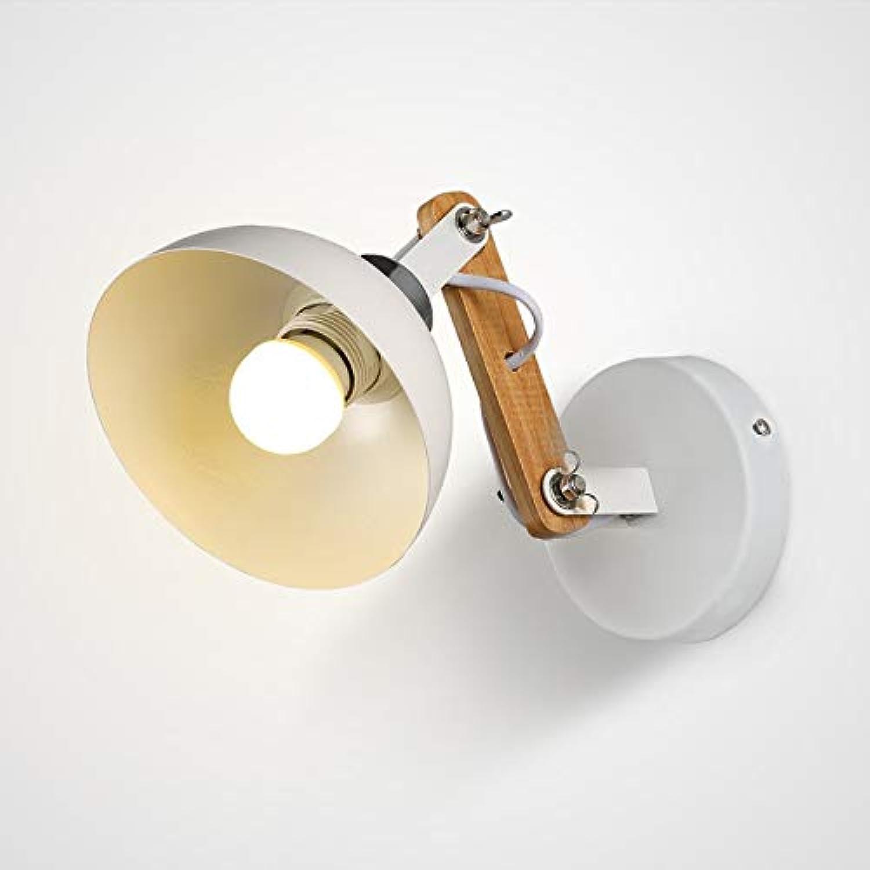 XY&XH Wandlampe, Kreative retro holz wandleuchte einstellbare leuchten, schlafzimmer wohnzimmer treppe nacht studie wandleuchten wandleuchte bh
