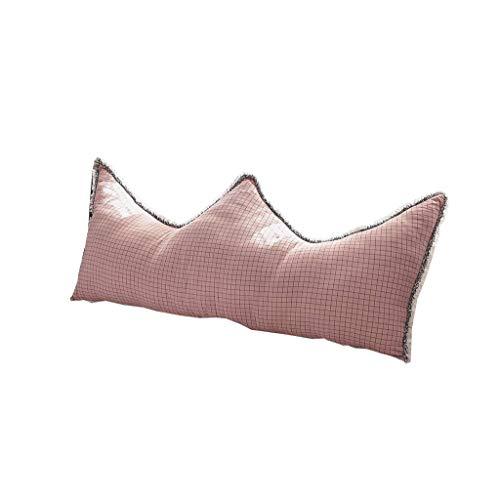 XIAOYAN Cuscini da Lettura Cuscini a Base di Supporto Supporto Supporto Supporto Riposo Posto Lettura Cuscino Ragazza Romantico Rosa (Colore: C, Dimensione: 90CMX70CM) (Color : B, Size : 180cmx80cm)