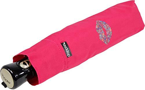 Doppler Taschenschirm Hit Havanna AC Auf-Zu-Automatik Kiss - Pink