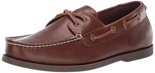 Tommy Hilfiger Men's Brazen3 Boat Shoe, Natural, 11