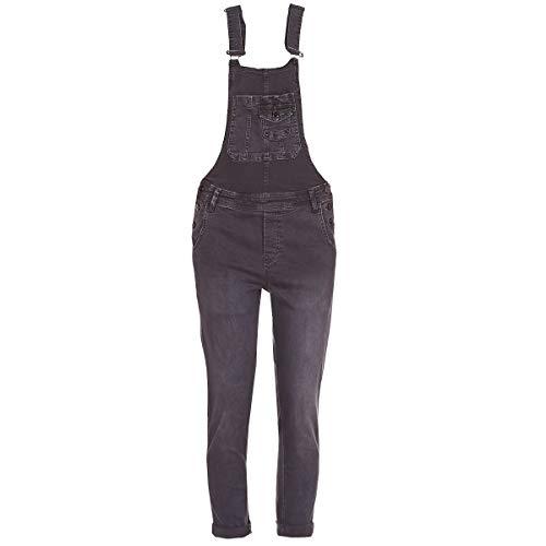 Pepe Jeans PL230244 Salopette Frauen Schwarz L
