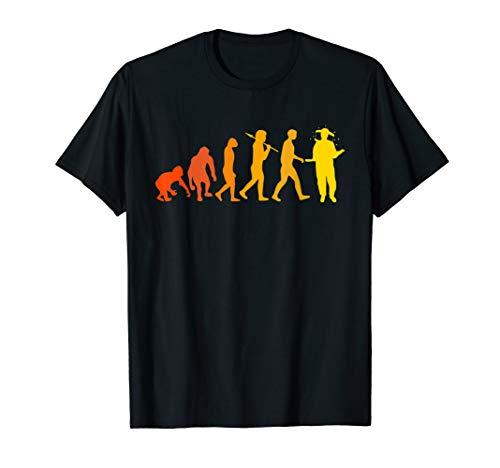 Imker Tshirt Evolution des Imkers Bienen Imkerei Geschenk