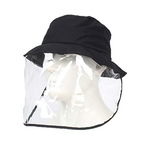GYJ Gezicht Bescherming En Oogbescherming, Beschermende Anti-Mist Masker, Anti-Mist Speeksel Wind Zand Oogbescherming Transparant, Visser Hoed voor Mannen en Vrouwen