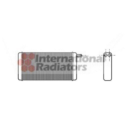 Lowest Prices! Van Wezel 58006128 Heat Exchanger, Interior Heating