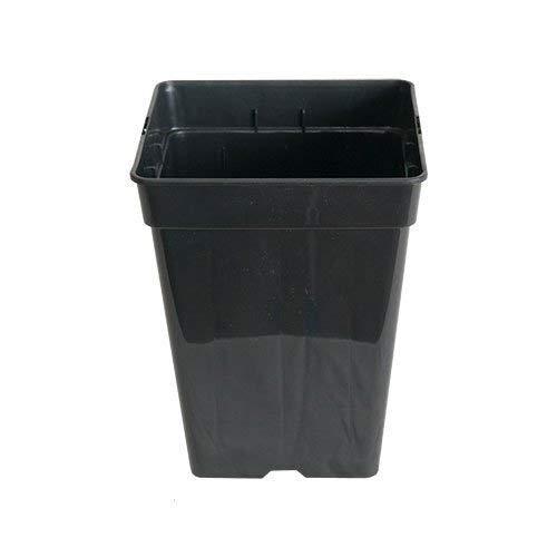 Vierkant-topf 3-11 L liter 4-Kant Topf viereckig Blumentopf Anzucht Pflanz Topf (11 Liter)