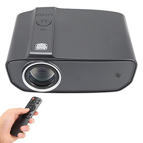 Xinde Mini Proiettore di Film, WiFi Proiettori Portatili, Home Theater Videoproiettore Schermo 1080P 200' Supportato, Accorto Proiettore per Pc Portatile TV iOS Android Sincronizza, per TV Stick(EU)
