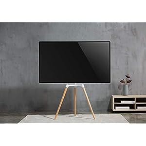 VIVO - Soporte para televisor de caballete artístico (giratorio, montaje de TV, pantalla de hasta 65 pulgadas): Amazon.es: Electrónica