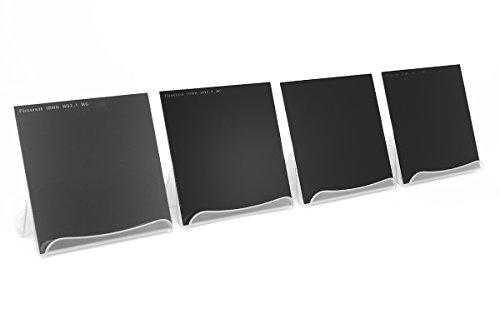 Formatt-Hitech Firecrest - Juego de filtros de Densidad Neutra (4 Unidades, 165 x 165, 7 a 10 Paradas)
