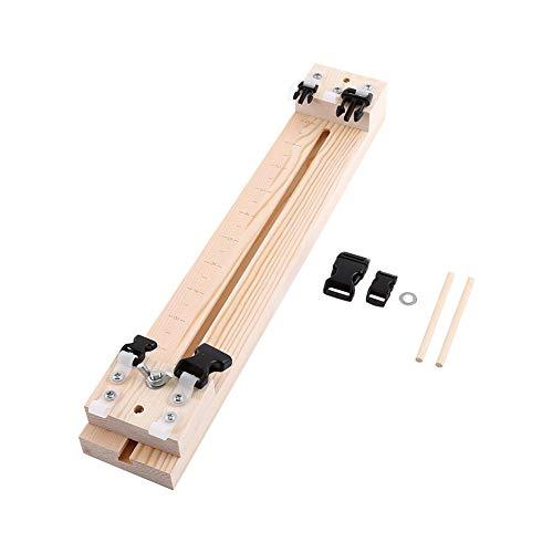 NIMOA Weaving Loom - Houten Jig Armband Maker Polsband Maker Armband Breien Tool