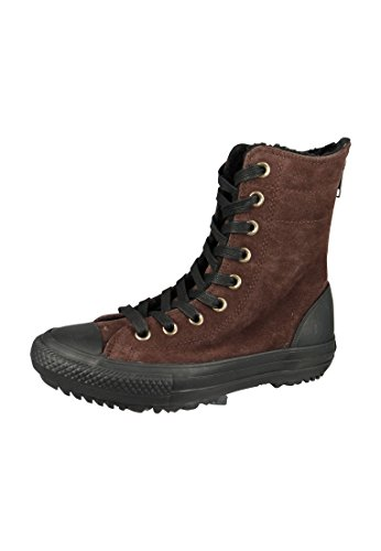 Converse Damen Stiefel Chucks Leder Braun 549594C CT AS Hi-Rise Boot Material Burnt Umber, Groesse:39.5 EU / 6.5 UK / 6.5 US / 25 cm
