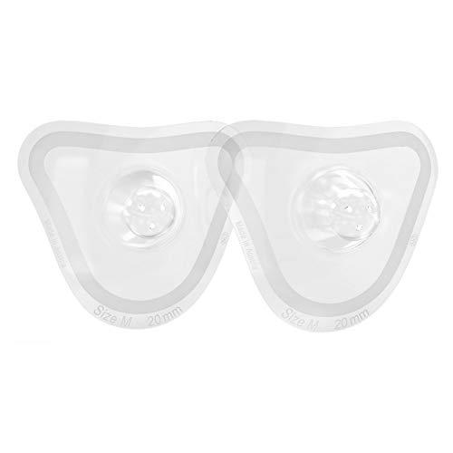 nip® first moments Stillhütchen, Größe M, 20 mm, 2 Stück, für ein natürliches Trinkgefühl, mit Aufbewahrungsbox